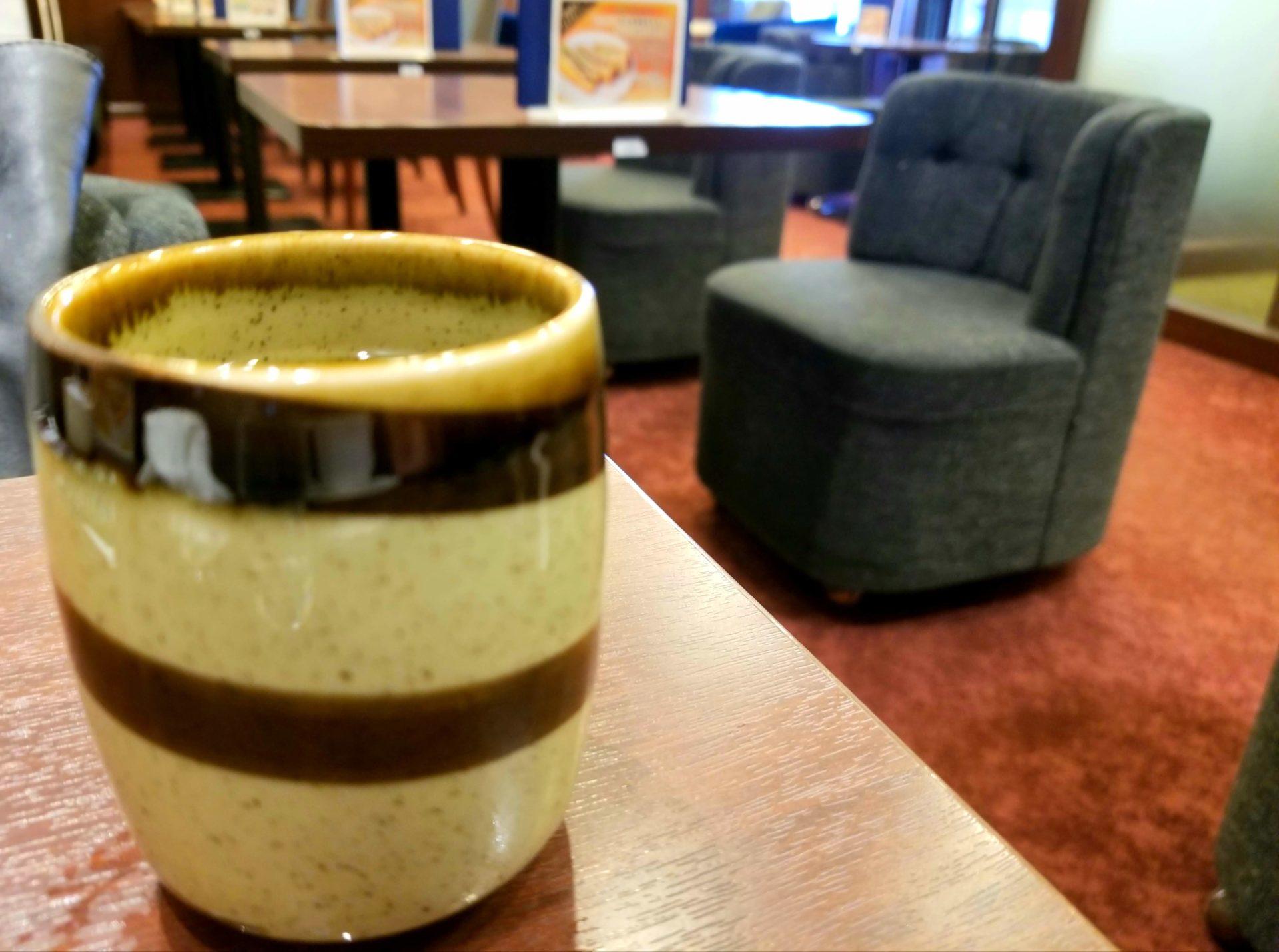 ルノアールのお茶