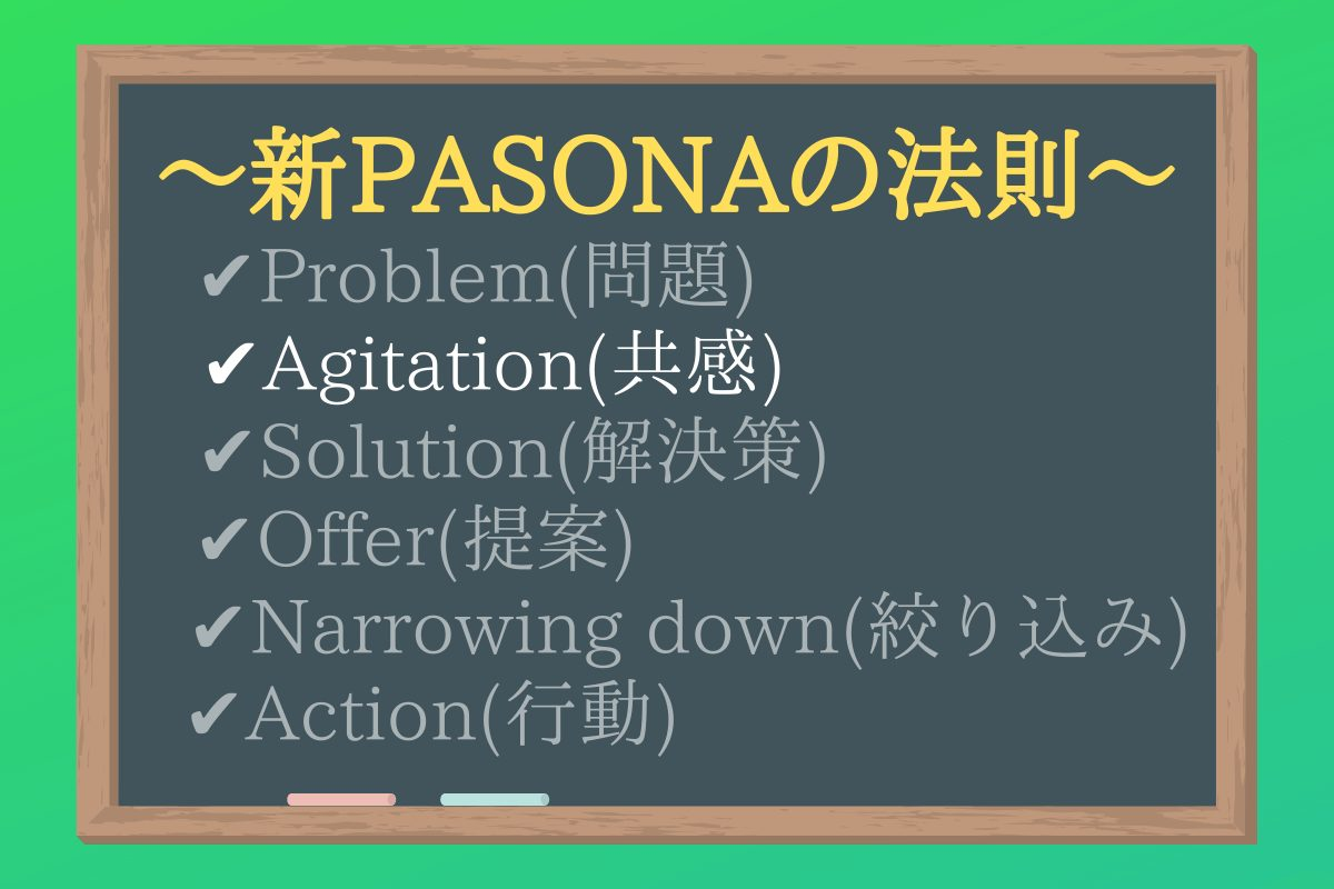 新PASONAの法則