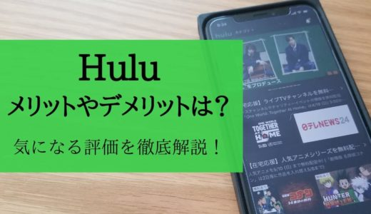 【保存版】Huluの評価はどう?無料体験やおすすめ映画を調査!