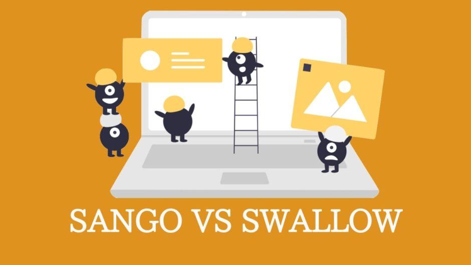 SANGOとSWALLOW