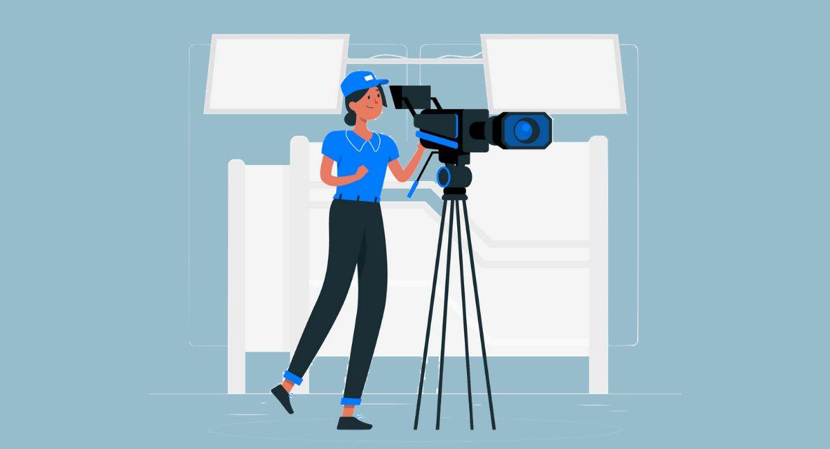動画作品を撮る人