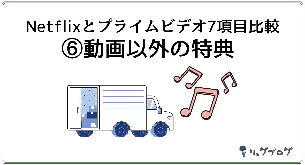 トラックと音符のイラスト