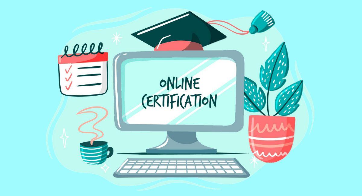 オンライン教育のイラスト